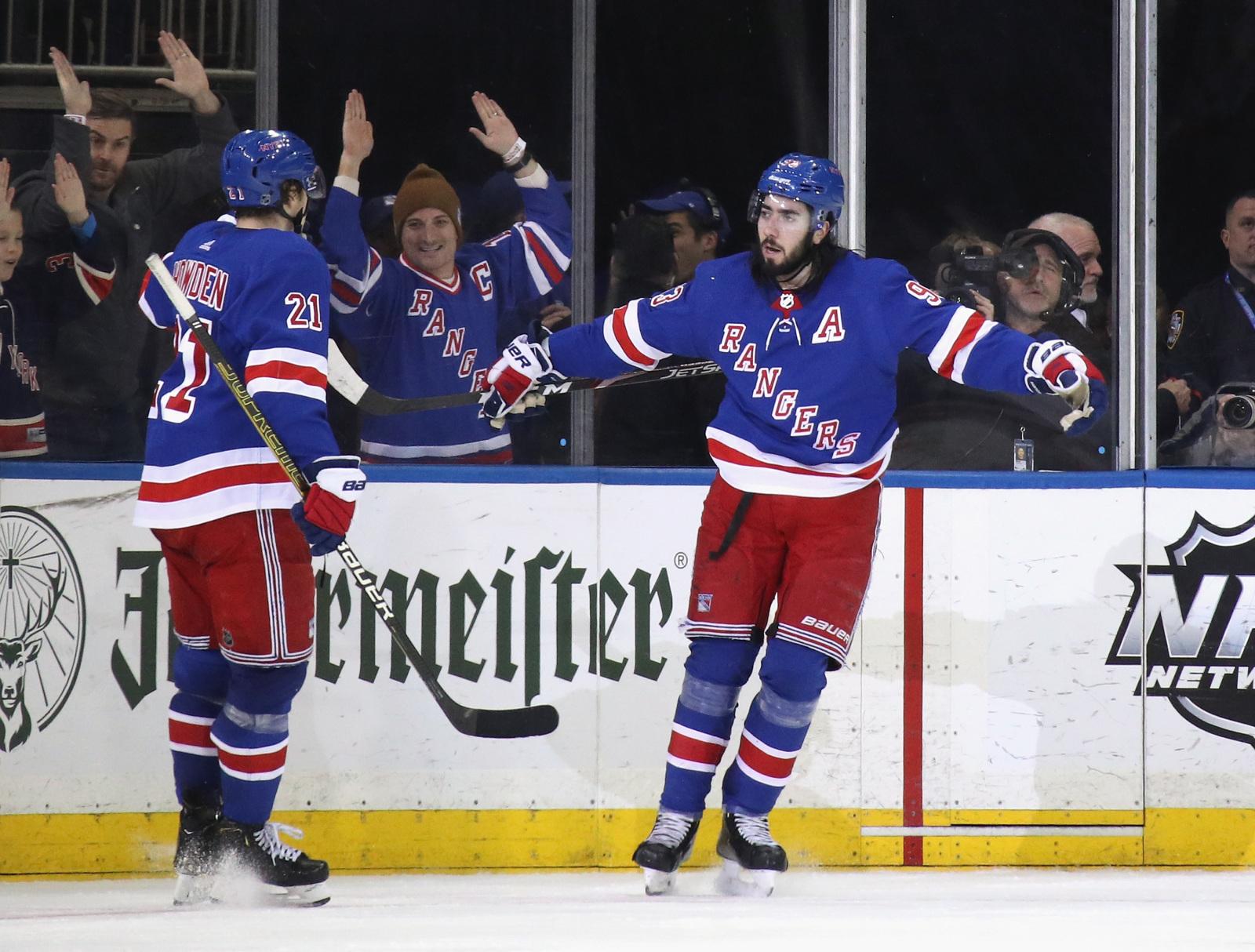 NHL 20 Simulation: Mika Zibanejad snaps Flyers streak with overtime winner